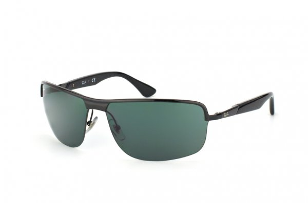 Очки Ray-Ban Active Lifestyle RB3510-002-71 Black | APX Grey/Green