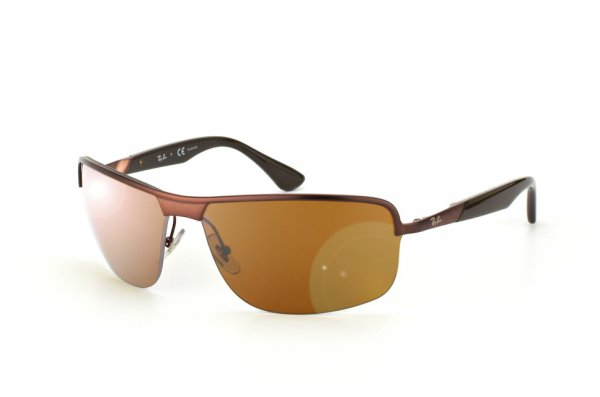 Очки Ray-Ban Active Lifestyle RB3510-012-83 Matte Brown | Poly. Brown Polarized P3