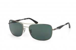 Очки Ray-Ban Active Lifestyle RB3515-004-71 Gunmetal | Poly. Grey/Green