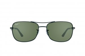 Очки Ray-Ban Active Lifestyle RB3515-006-9A Matt Black | Natural Green Polarized