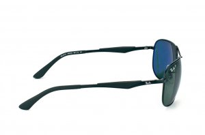 Очки Ray-Ban Active Lifestyle RB3519-006-9A Matt Black | Natural Green Polarized