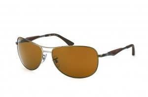 Очки Ray-Ban Active Lifestyle RB3519-029-83 Matte Gunmetal | Poly. Brown Polarized P3