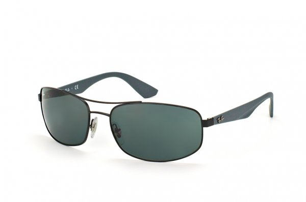Очки Ray-Ban Active Lifestyle RB3527-006-71 Matte Black| Grey / Green