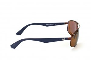 Очки Ray-Ban Active Lifestyle RB3527-012-83 Brown/Matt Blue| APX Brown Polarized