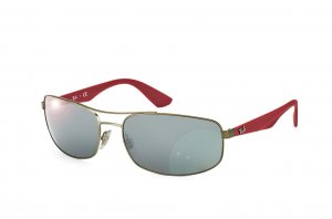 Очки Ray-Ban Active Lifestyle RB3527-029-6G Matte Gunmetal | Grey / Silver Mirror