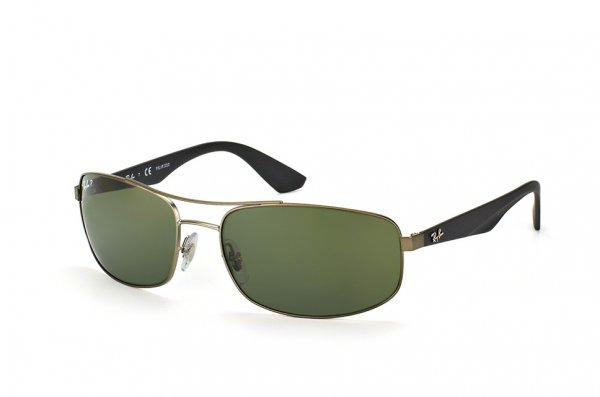 Очки Ray-Ban Active Lifestyle RB3527-029-9A Matte Gunmetal | Grey / Green Polarized