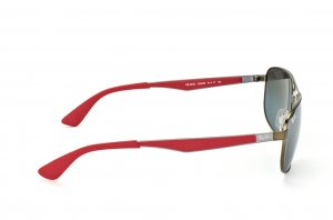 Очки Ray-Ban Active Lifestyle RB3528-029-88 Matt Bronze / Red/ Poly. Grey Mirror