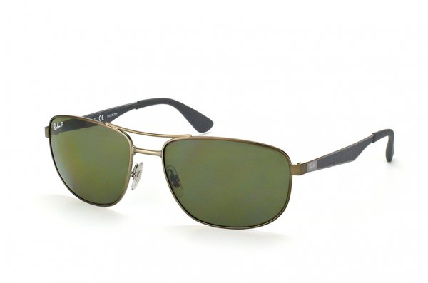 Очки Ray-Ban Active Lifestyle RB3528-029-9A Matt Bronze / Grey/ Poly. Polar Grey/Green Polarized