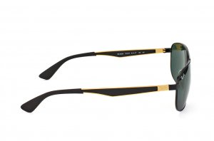 Очки Ray-Ban Active Lifestyle RB3528-191-71 Matt Black / Gold | APX Green