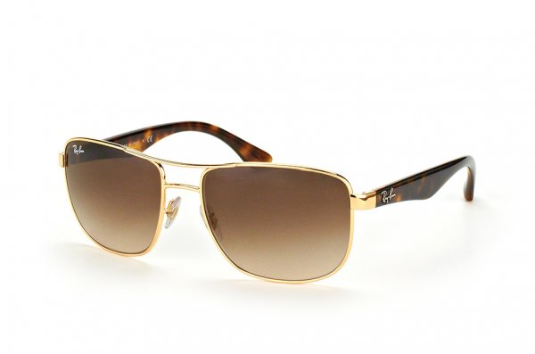 Очки Ray-Ban Active Lifestyle RB3533-001-13 Arista/ Havana| Brown Gradient