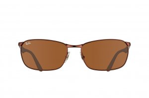 Очки Ray-Ban Active Lifestyle RB3534-012 Matte Brown | Natural Brown (B-15 XLT)