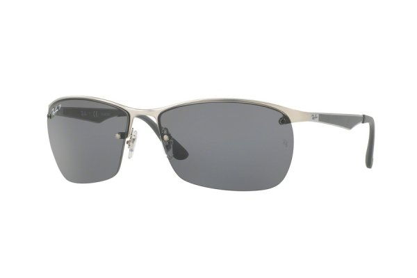 Очки Ray-Ban Active Lifestyle RB3550-019-81 Matt Silver | Silver / Blue Polarized