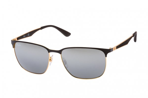 Очки Ray-Ban Active Lifestyle RB3569-187-88 Black / Arista | Grey Silver Mirror