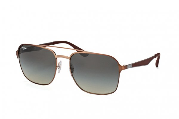 Очки Ray-Ban Active Lifestyle RB3570-121-11 Shiny Brown | Faded Grey