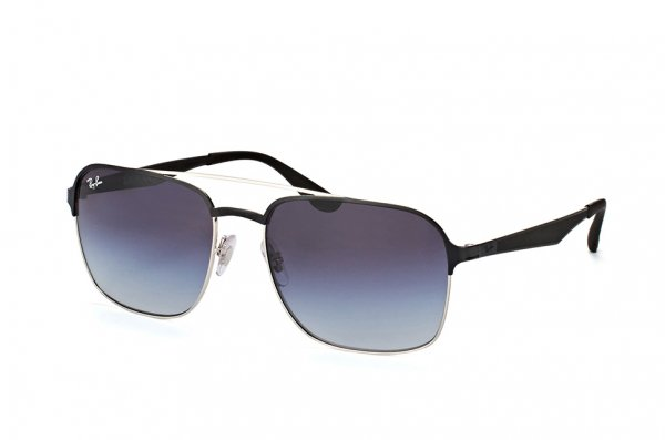 Очки Ray-Ban Active Lifestyle RB3570-9004-8G Black / Silver | Grey Gragient