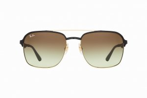 Очки Ray-Ban Active Lifestyle RB3570-9110-E8 Arista / Black | Faded Green