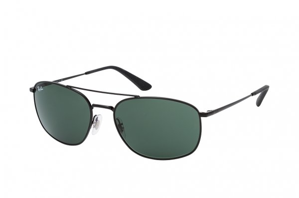 Очки Ray-Ban Active Lifestyle RB3654-002-71 Black | Natural Green