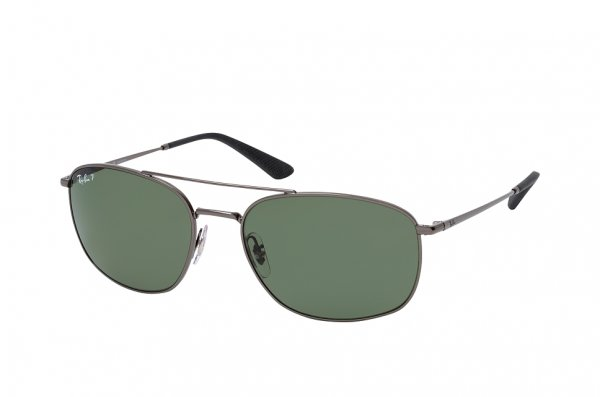 Очки Ray-Ban Active Lifestyle RB3654-004-9A Gunmetal | Natural Green Polarized