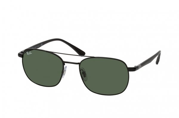 Очки Ray-Ban Active Lifestyle RB3670-002-31 Black | Natural Green