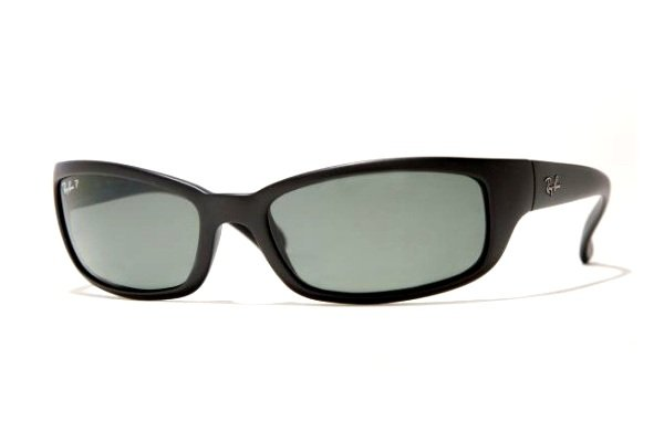 Очки Ray-Ban Active Lifestyle RB4037-601S-48 Matte Black | Natural Green Polarized
