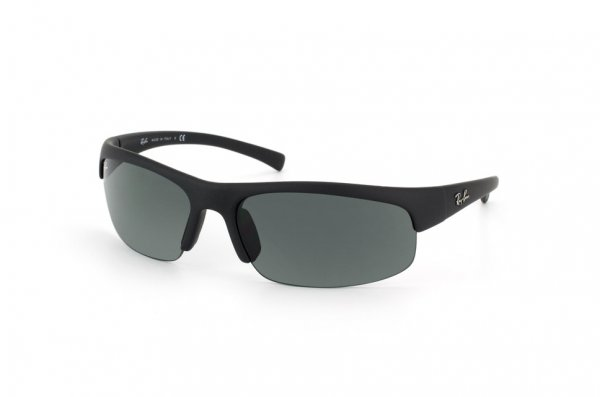 Очки Ray-Ban Active Lifestyle RB4039-622-71 Black Rubber/Poly. Grey/Green