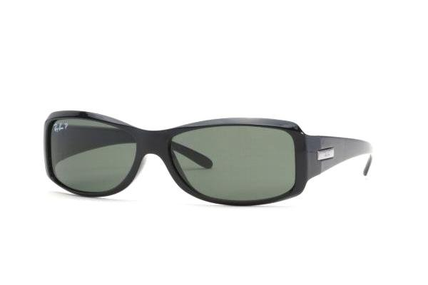 Очки Ray-Ban Active Lifestyle RB4078-601-58 Matte Black | Natural Green Polarized