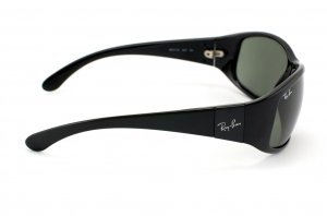Очки Ray-Ban Active Lifestyle RB4110-601 Black | Natural Green  (G-15 XLT)