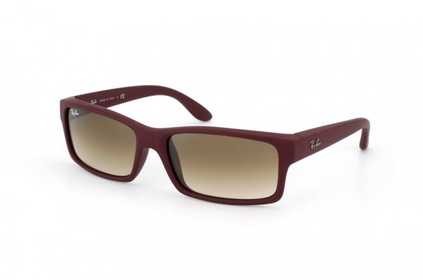Очки Ray-Ban Active Lifestyle RB4151-816-51 Red Beet Rubber/Faded Brown