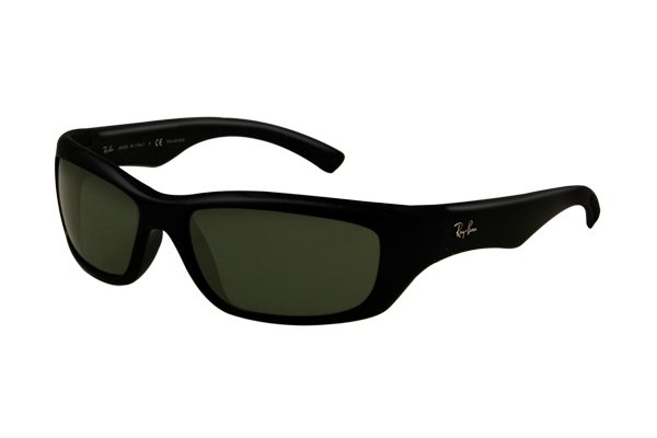 Очки Ray-Ban Active Lifestyle RB4160-601 Black | Natural Green (G-15XLT)
