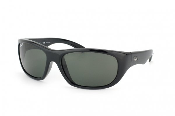Очки Ray-Ban Active Lifestyle RB4177-601-58 Black | Natural Green Polarized
