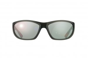 Очки Ray-Ban Active Lifestyle RB4188-6006-6G Black Transparent | APX Silver Mirror