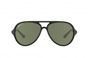 Очки Ray-Ban Active Lifestyle RB4235-601S-58 Matt Black | Natural Green Polarized