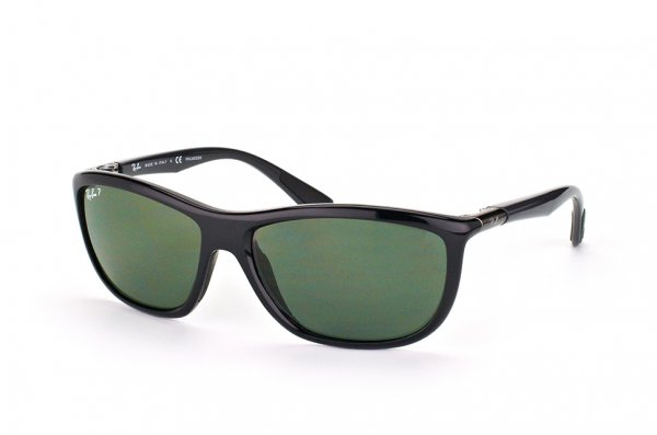 Очки Ray-Ban Active Lifestyle RB8351-6219-9A Black / APX Green Polarized