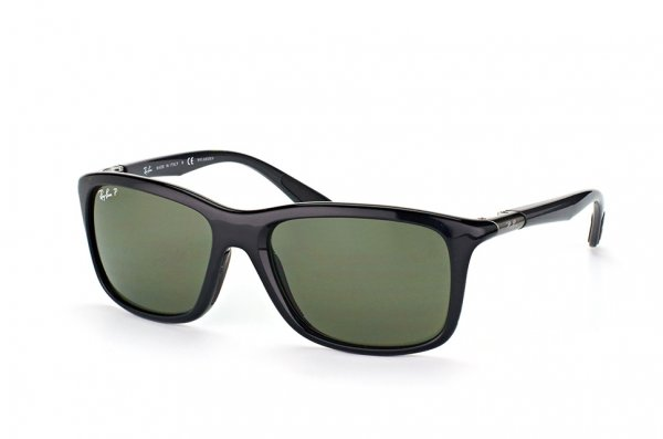 Очки Ray-Ban Active Lifestyle RB8352-6219-9A Black / APX Green Polarized