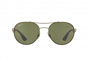 Очки Ray-Ban Active Lifestyle Round RB3536-029-9A Matt Gunmetal | Natural Green Polarized
