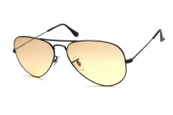 Очки Ray-Ban Ambermatic Aviator RB3025-006-4A Matt Black | Ambermatic