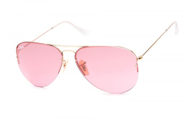Очки Ray-Ban Aviator Flip Out RB3460-001-84 Arista | Pink