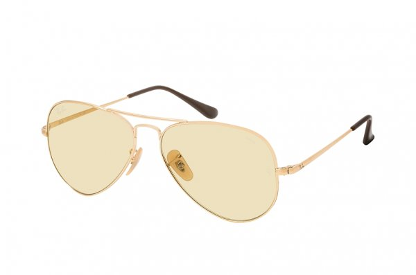 Очки Ray-Ban Aviator II Evolve RB3689-001-T2 Arista | Light Brown / Photocromic