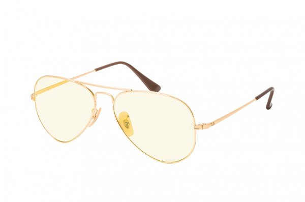 Очки Ray-Ban Aviator II Evolve RB3689-001-T4 Arista | Light Yellow / Photocromic