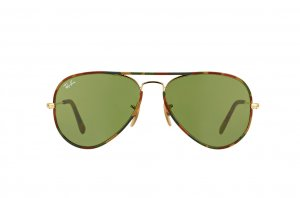 Очки Ray-Ban Aviator Large Metal Camouflage RB3025JM-168-4E Arista/ Camouflage |  Natural Green