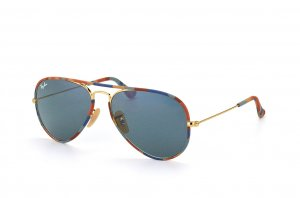 Очки Ray-Ban Aviator Large Metal Camouflage RB3025JM-170-R5 Arista/ Camouflage |  Blue/Grey