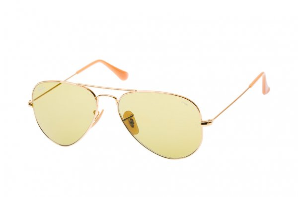 Очки Ray-Ban Aviator Large Metal Evolve RB3025-9064-4C Arista | Green Photocromic