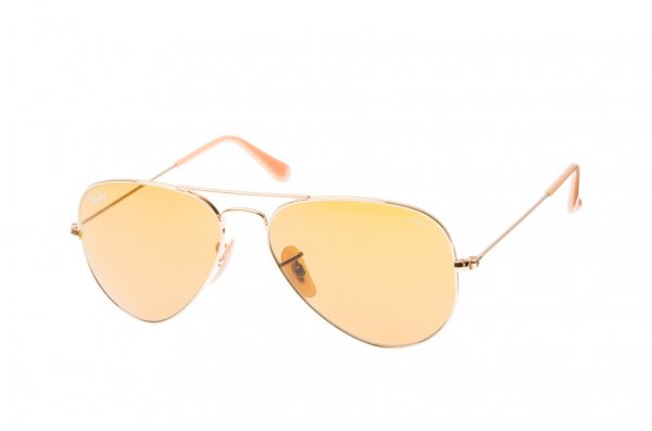Очки Ray-Ban Aviator Large Metal Evolve RB3025-9064-4I Arista | Brown Photocromic