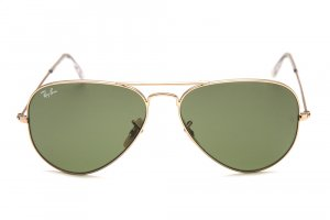 Очки Ray-Ban Aviator Large Metal RB3025-001-14 Arista | Green