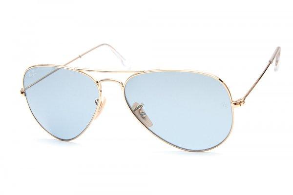 Очки Ray-Ban Aviator Large Metal RB3025-001-62 Arista/Crystal Sky Blue