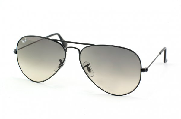 Очки Ray-Ban Aviator Large Metal RB3025-002-32 Black/Gradient Grey