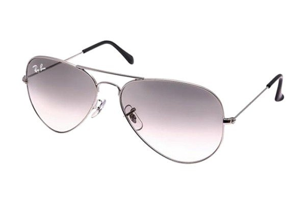 Очки Ray-Ban Aviator Large Metal RB3025-004-32 Gunmetal | Gradient Grey