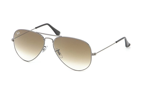 Очки Ray-Ban Aviator Large Metal RB3025-004-51 Gunmetal/Faded Brown Gradient