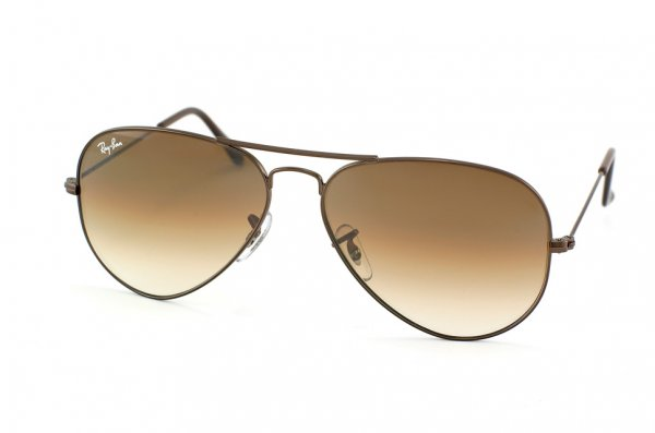 Очки Ray-Ban Aviator Large Metal RB3025-014-51 Brown/Faded Brown Gradient