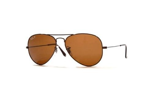 Очки Ray-Ban Aviator Large Metal RB3025-014-83 Brown | Poly. Polar Brown Polarized P3